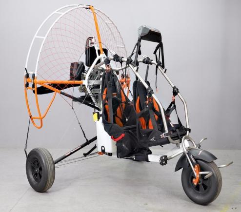 轻型双人轮式动力伞