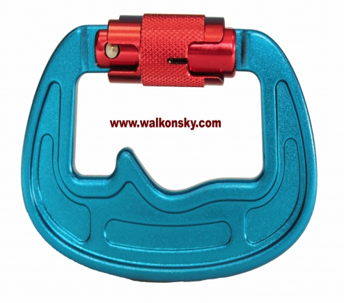 Main hook for paramotor and paragliding